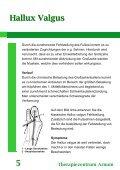 Hallux Valgus Therapiezentrum Arnum 9 - Seite 6