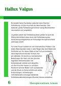 Hallux Valgus Therapiezentrum Arnum 9 - Seite 7