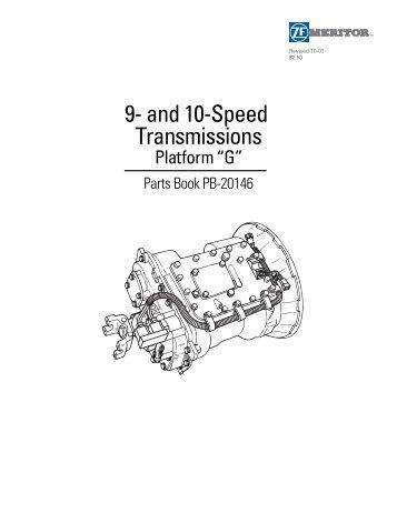 Meritor Transmission Repair manual