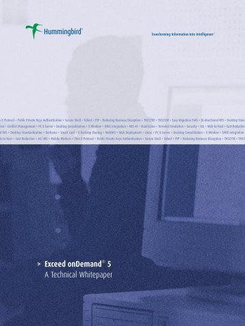 Exceed onDemand A Technical Whitepaper