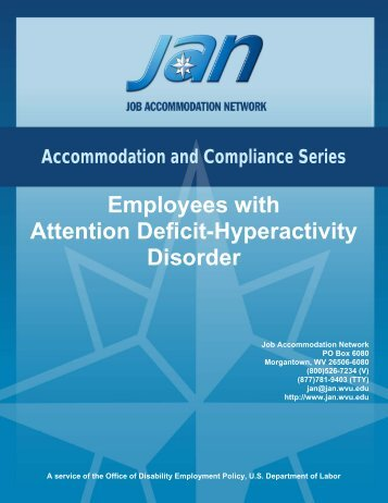 Employees with Attention Deficit-Hyperactivity ... - ADHD Info Centre