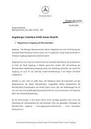 Augsburger Linienbus erhält neues Gesicht - Mercedes-Benz ...
