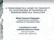 Mihály Szabolcs főigazgató