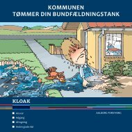 Kommunen tømmer bundfældningstanke - Aalborg Forsyning