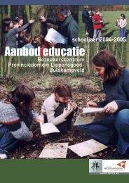 Aanbod educatie - Provincie West-Vlaanderen