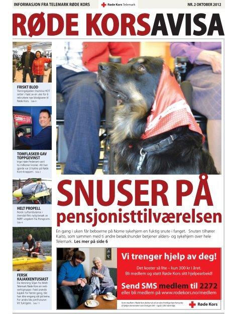 Les hele saken i Røde Kors Avisa Telemark