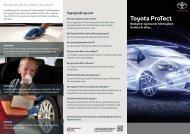 Toyota Protect FAQ (415 Kb)