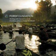 Ford Foundation Annual Report 2008