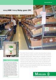 Holzeiscremestiele fertigen mit SmartWire HMI / Relay ... - Moeller