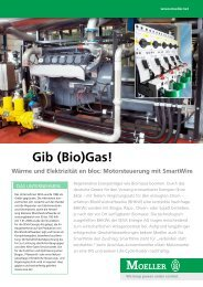 Gib (Bio)Gas! - Moeller