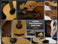 GUITAR PHOTOGRAPHY SIMPLIFIED