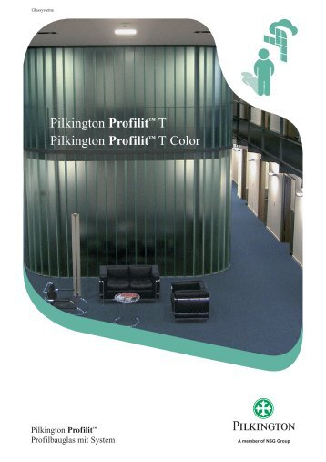 Flyer Profilit™ T - Flachglas Schweiz