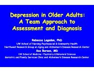 Depression in Older Adults - National Resource Center for American ...