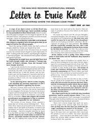 The Dreams of Ernie Knoll - SDADefend