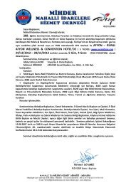 28/12/2012 tarihleri arasında, 5 Gün, 4 Gece (TAM - Mihder