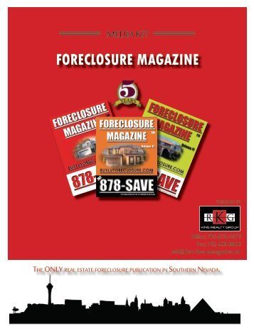 Foreclosure Magazine - advertising - Foreclosure Listings