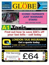 to view this issue - Taxi Globe