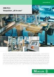 """HMI-PLC: Verpacken """"all-in-one"""" - Moeller"""