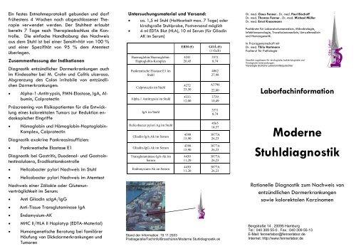 Stuhldiagnostik Laborfachinformation Laborfachinformation Laborfachinformation Laborfachinformation Stuhldiagnostik Moderne Moderne Moderne Stuhldiagnostik Stuhldiagnostik Moderne Laborfachinformation qSpGUMzV