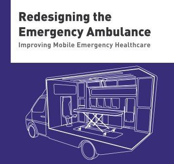 Redesigning the Emergency Ambulance - Helen Hamlyn Centre ...