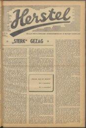 Herstel (1945) nr. 18 - Vakbeweging in de oorlog