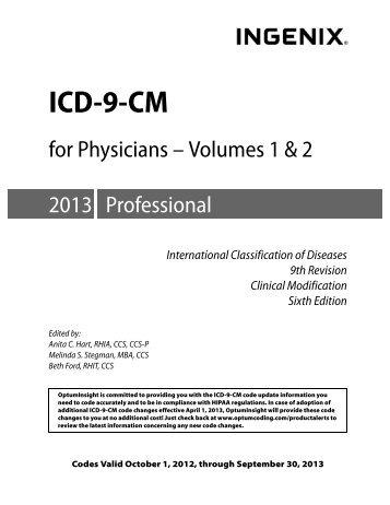 ICD-9-CM - OptumCoding.com