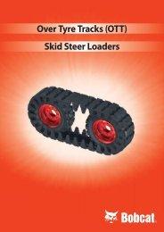 over Tyre Tracks (oTT) Skid Steer loaders - DM-Ker Kft