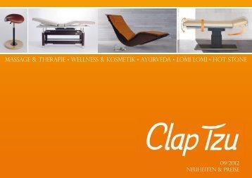 Katalog-Download - Clap Tzu