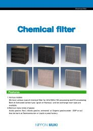Nippon Muki Chemical Filter Catalogue - tebaf