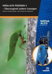 Nilfisk-ALTO POSEIDON 4 – Überzeugend saubere Lösungen