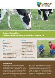 Glenmar - dairy - Compost for Soils