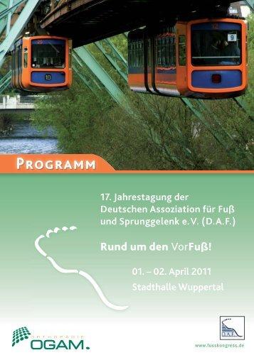 Innovation auf Schritt und Tritt. - 19. Jahrestagung der Deutschen ...