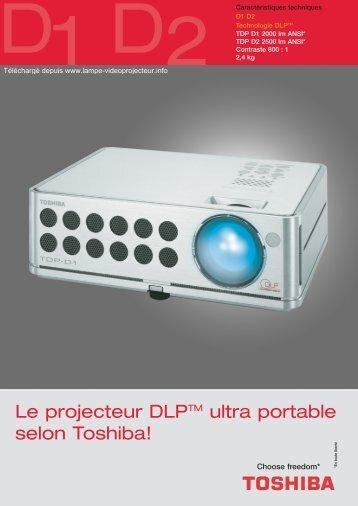TDP D1 - Lampe-videoprojecteur.info