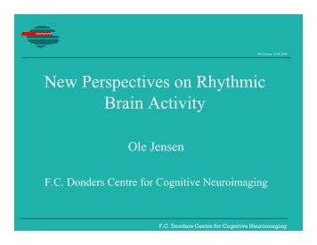 13:30-13:50 New perspectives on brain rhythmic activity