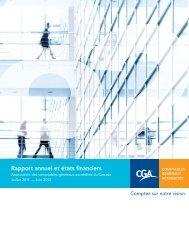 Rapport annuel et états financiers 2011-2012 - Certified General ...