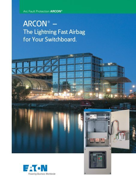ARCON - The lightning fast airbag for your switchboard - Moeller