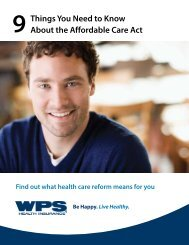 9 Things You Need to Know About the Affordable Care Act - WPS
