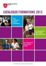 Catalogue de Formations 2013 - Capgeris