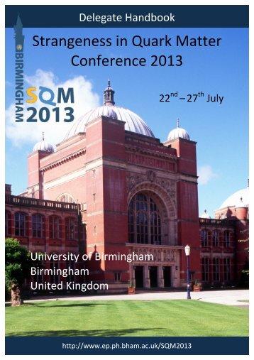 Delegate Handbook - University of Birmingham