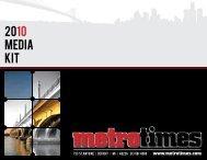 2010 Metro Times Media Kit