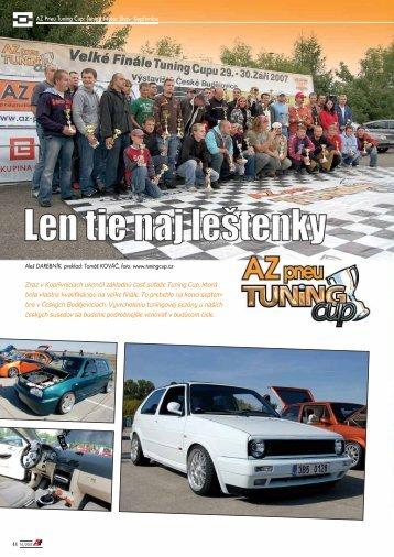 Zraz v Kopřivniciach ukončil základnú časť súťaže ... - AutoTuning.sk