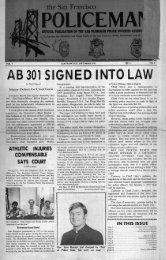September 1976 - San Francisco Police Officers Association