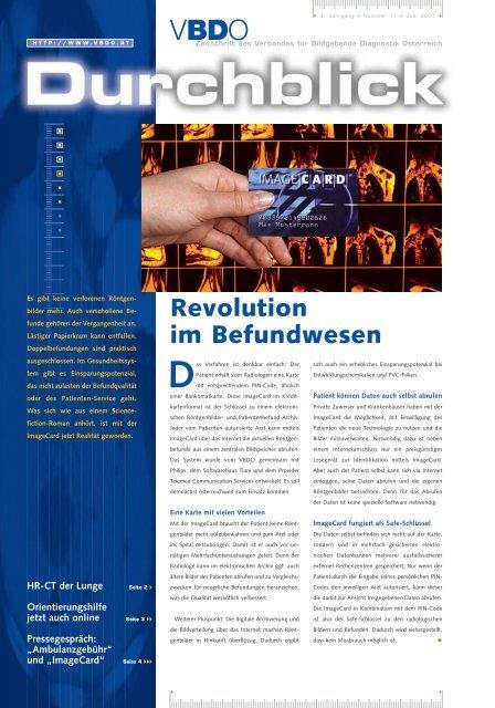 HR-CT der Lunge - Verband für Bildgebende Diagnostik Österreich