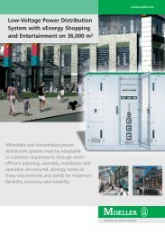 Low-Voltage Power Distribution System with xEnergy ... - Moeller