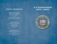 IS A GUARDIANSHIP WHAT I NEED? - Delaware State Courts