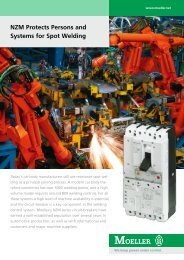 NZM Protects Persons and Systems for Spot Welding - Moeller