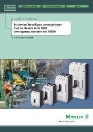 Productinformatie Schakelen, beveiligen, communiceren ... - Moeller