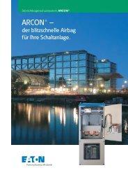 ARCON - der blitzschnelle Airbag für Ihre Schaltanlage - Moeller