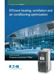 Efficient heating, ventilation and air-conditioning optimization - Moeller