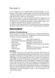 Epifanes Broschüre